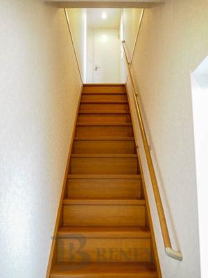 ヒルズ369の階段です