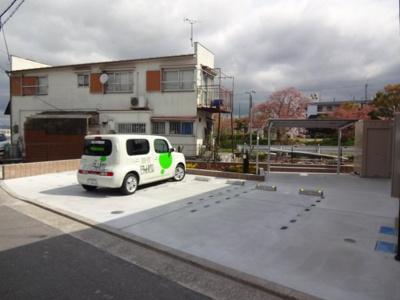 【駐車場】リッツジュンⅡ