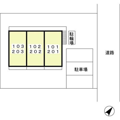 【区画図】ジュネス上池台