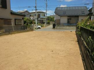 グランファミーロ誉田 土地 誉田駅 庭側にプライベートな空間を作りやすい土地です。