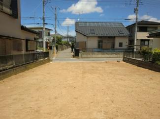 グランファミーロ誉田 土地 誉田駅 敷地全体が日当たり良い区画です。