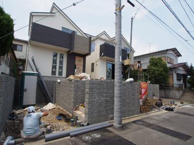 【外観】保土ヶ谷区新桜ヶ丘1丁目全2棟 新築戸建て