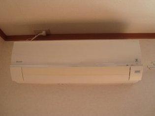 エアコン 内装イメージ:同物件別室