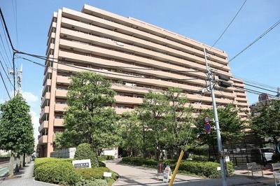 【外観】コスモ西大島グランステージ 1996年築 リフォーム済