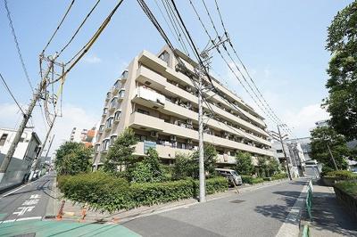 【外観】大島サンハイツ 大島駅9分 2階 角部屋 リフォーム済