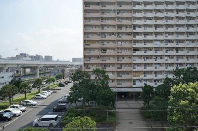 【展望】仲介手数料無料■大島サンハイツ 7階 リフォーム済 大島駅9分
