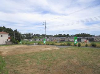 グランファミーロもねの里 土地 物井駅 敷地周辺には緑豊かなおやまつきみ公園もあります♪お子様には嬉しいですね!