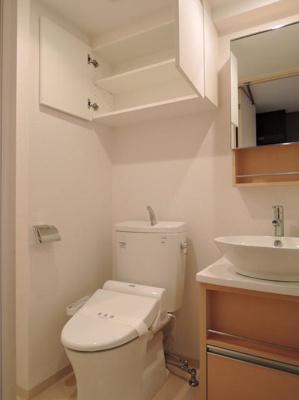 プレール・ドゥーク目白のシンプルで使いやすいトイレです
