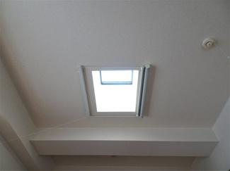 最上階の天窓
