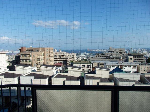 神戸を一望できる眺望です。オーシャンビュー