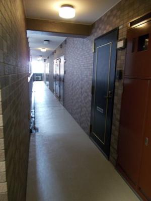 T&G東池袋マンションの廊下☆