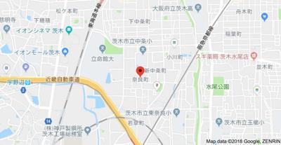 【地図】吉田貸家