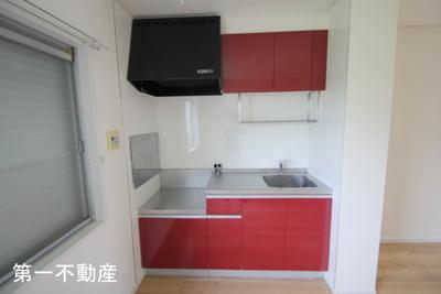 【キッチン】コンフォート社A棟