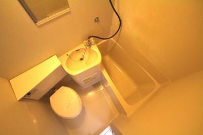 【浴室】六甲ハイツUEDA