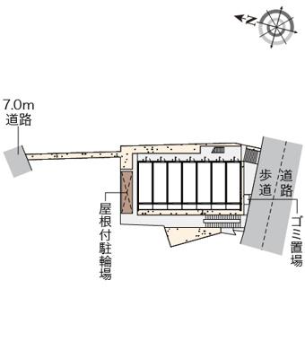 【地図】シャトレー栗木
