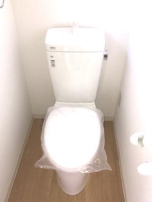 トイレ新設♪清潔感があるトイレです