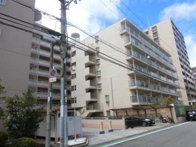 【現地写真】 総戸数78戸のマンションです♪