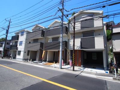 【外観】保土ヶ谷区法泉1丁目全4棟 新築戸建て【成約】