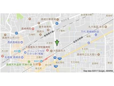 【地図】ぷりんせす八丁畷B棟