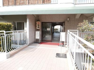 【エントランス】八戸ノ里スカイハイツ