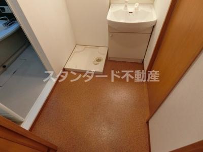 【洗面所】コンフォート松ケ枝Ⅱ
