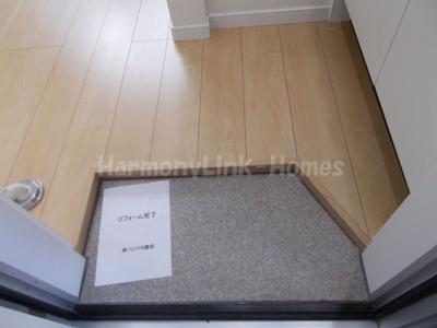 フェリスラビットの毎日通る玄関はこちらです