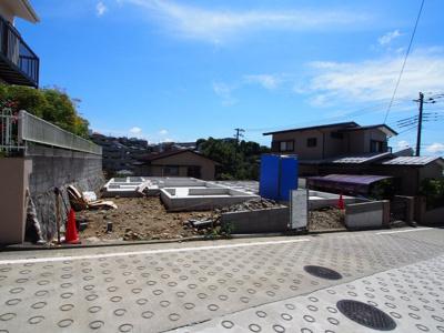 【外観】保土ヶ谷区初音ヶ丘全2棟 新築戸建て【成約】