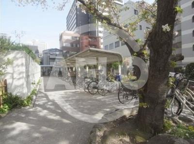 桜川グリーンコーポラス 駐輪場