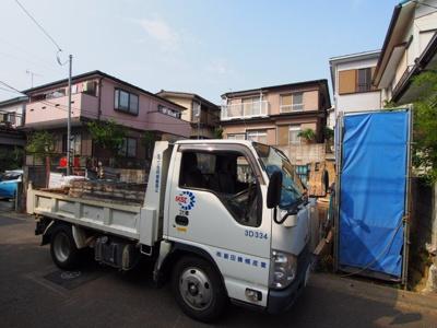 【外観】保土ヶ谷区新井町 全2棟新築戸建て【成約】