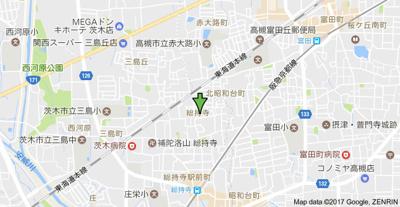 【地図】五月フレックスマンション