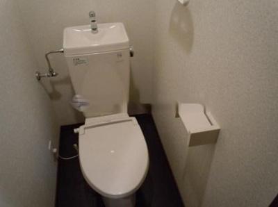 スパシエ巣鴨の落ち着いた色調のトイレです★