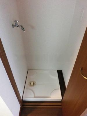 スパシエ巣鴨の室内洗濯機置き場★