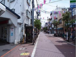 矢口渡駅前商店街