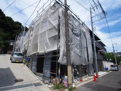 【外観】保土ヶ谷区上菅田町全5棟 新築戸建て
