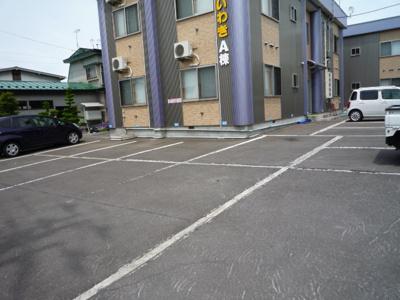 【駐車場】ハイムいわきA棟