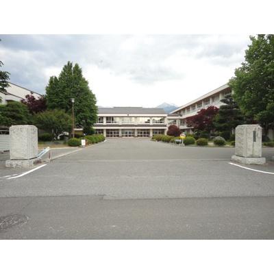 小学校「安曇野市立穂高西小学校まで2241m」