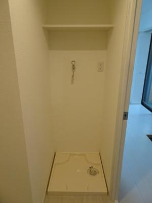 シャトーノール 洗濯機置き場は室内(脱衣所)にございます!