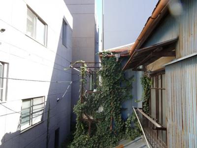 岡田貸家 ベランダからの眺望