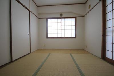 【寝室】マンション白菊