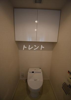 【トイレ】エステマール芝公園