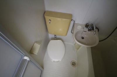 【トイレ】レオパレス王子公園第3