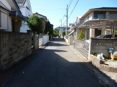 【前面道路含む現地写真】北本市本宿 売地