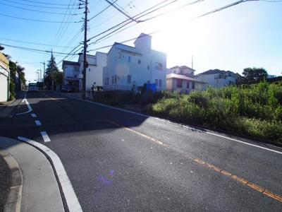 【前面道路含む現地写真】保土ヶ谷区上菅田町全3棟 新築戸建て【成約】