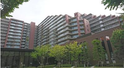 【外観】シティテラス東陽町 10階 70.37㎡ 2006年築 南バルコニー