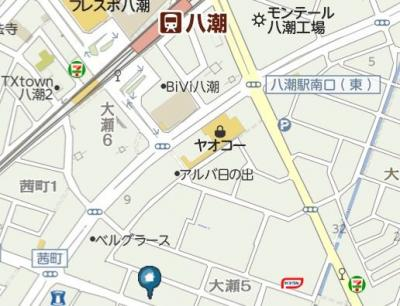 【地図】Plaisir(プレジール)