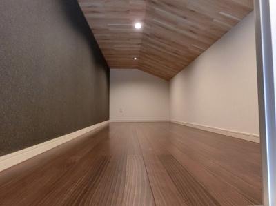 【現地写真】 屋根裏スペースをうまく活用しました♪