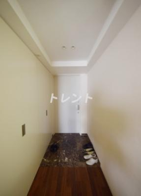 【玄関】高輪ザレジデンス