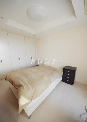 【寝室】高輪ザレジデンス