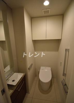 【トイレ】ブランズ麻布狸穴町
