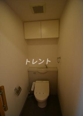 【トイレ】ファミール芝公園グランスイートラヴィル